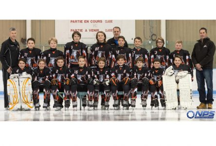 Thetford remporte son premier match au Tournoi international pee-wee