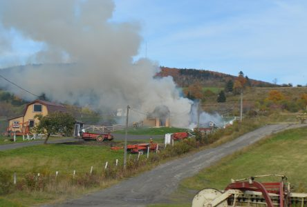 Un incendie d'origine accidentelle à Pontbriand
