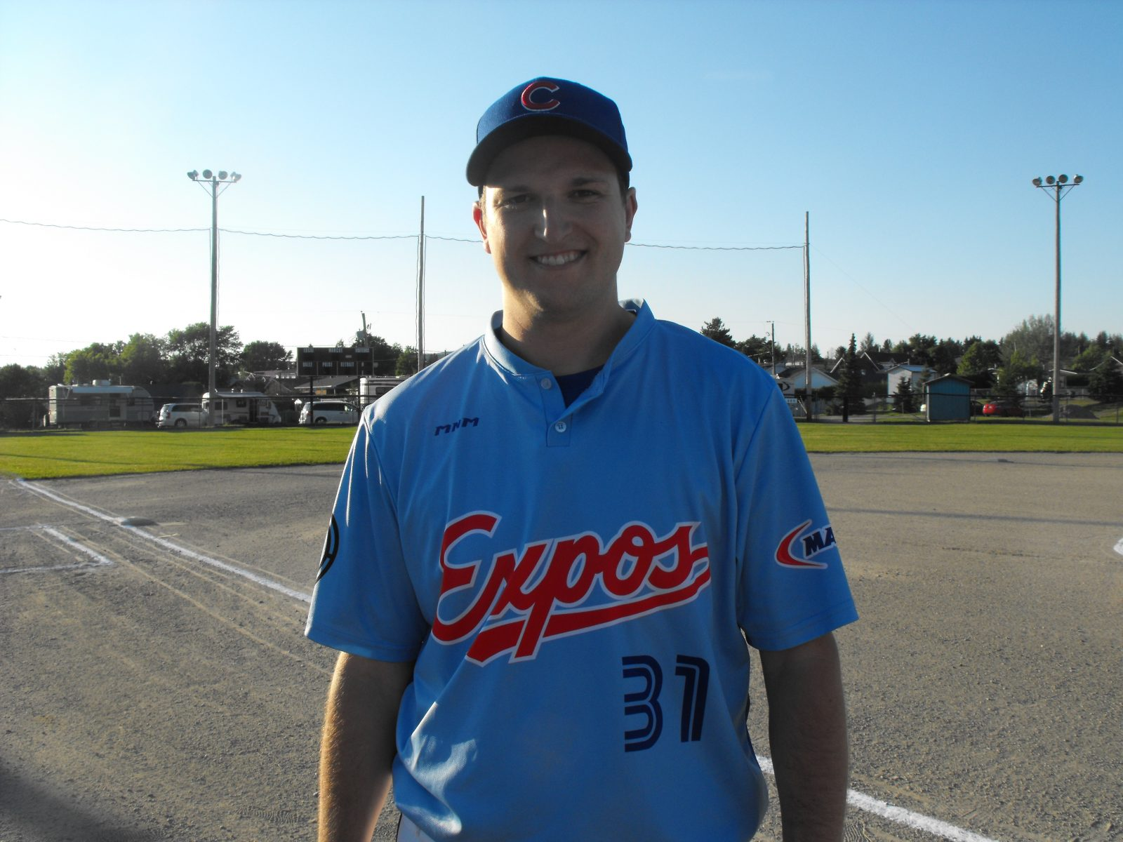 Ligue de softball Sports Experts / Molson : David Nadeau est le joueur de la semaine